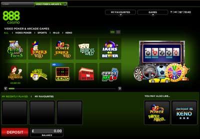 888 Video Poker Casino Review 200 Bonus Offer