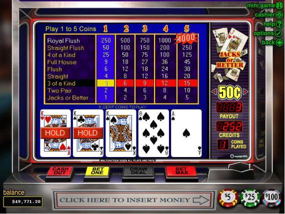 Grand Parker Casino Jacks or Better