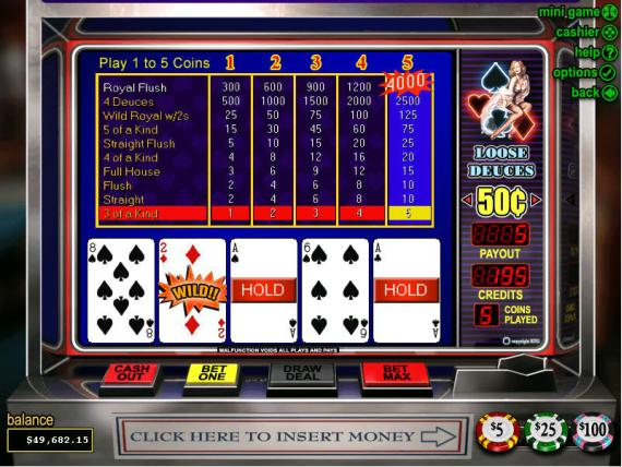 Grand Parker Casino Loose Deuces