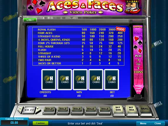 online william hill casino joker poker
