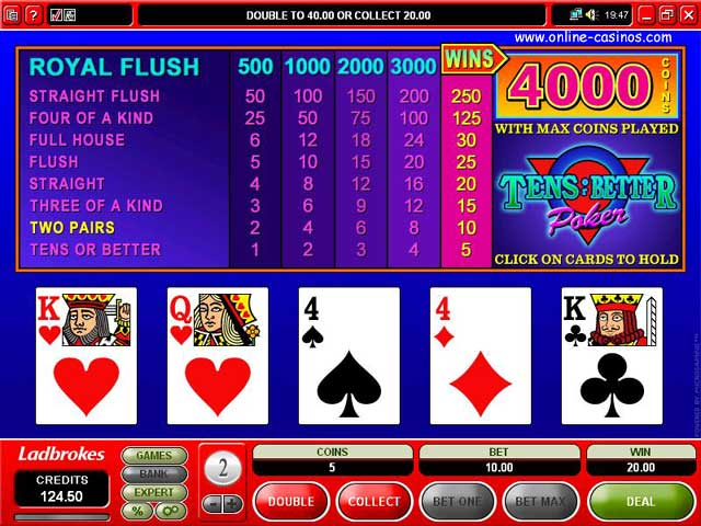 Where to Play Video Poker Online